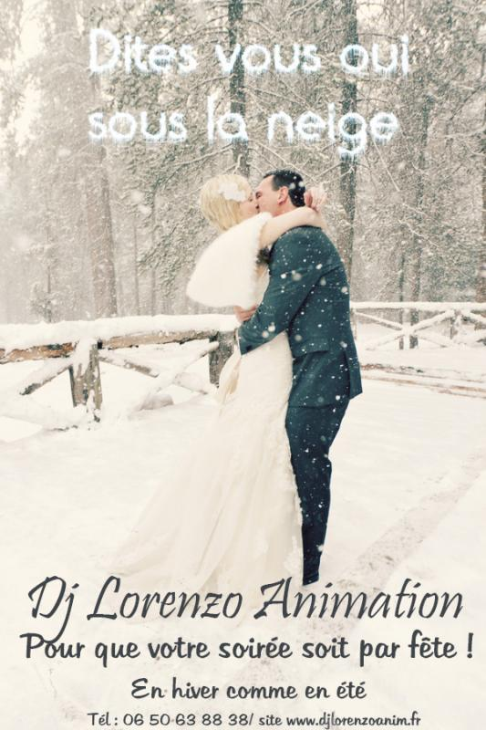 2014 affiche mariage hiver