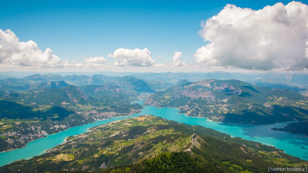 Vue depuis le sommet du Morgon (Hautes-Alpes)